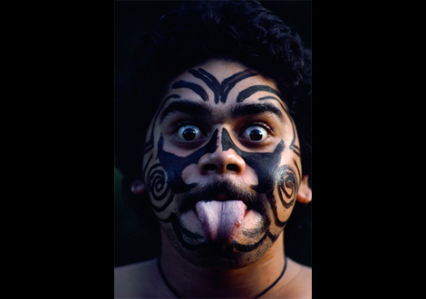 Traditional tattoos, or ta moko, were once